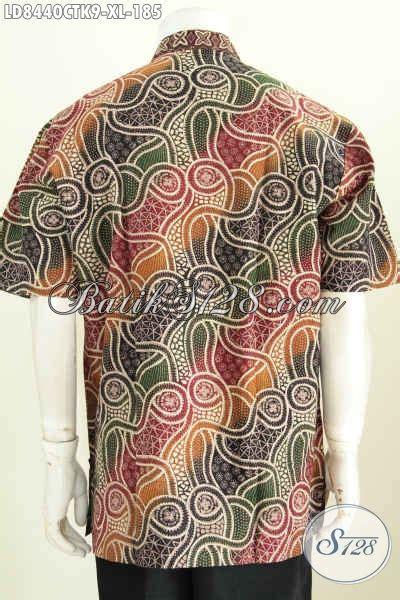Hem Batik Shanghai hem batik modern hem batik pria jankis kemeja batik koko