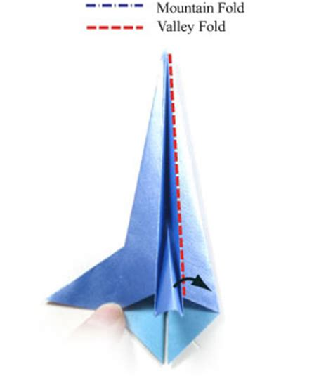 How To Fold A Paper Rocket - how to make a 3d origami rocket page 10