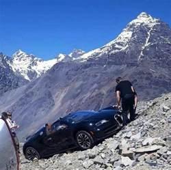 Bugatti Crash Bugatti Veyron Andes Mountains Crash Looks Surreal Damage