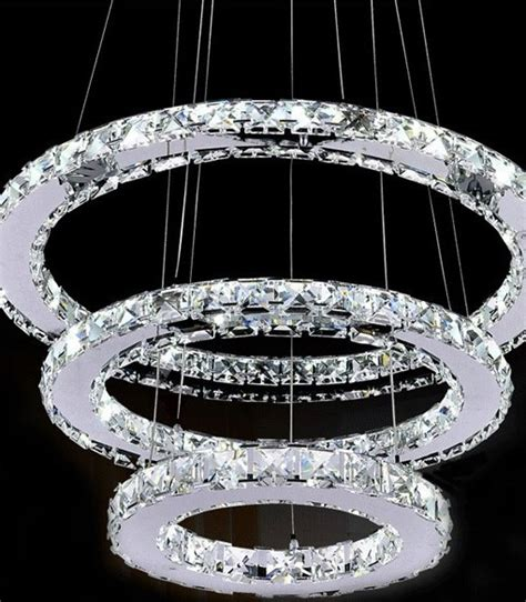 Circle Crystal Chandelier Gorgeous Circle Chandelier Get Cheap Clear