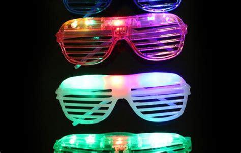 novelty lights discount code wholesale blinking led shutter eye glasses light up