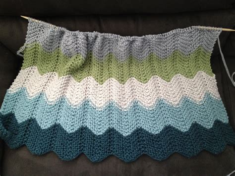 chevron baby blanket knitting pattern supacrafty baby blanket success