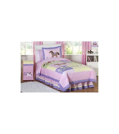 sweet jojo bedding sweet jojo designs pony twin bedding set