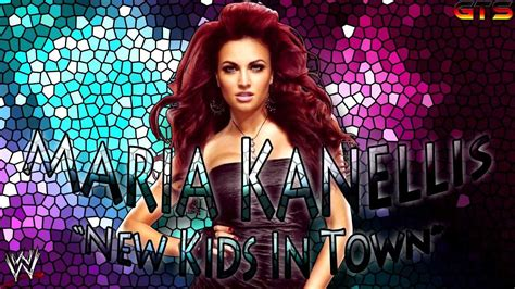 wwe themes names maria kanellis wwe custom theme song quot new kids in town