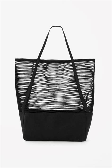 Mesh Panel Shopper Bag 1000 images about b a g s f o r h e r on