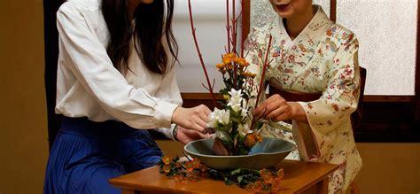 Modern Japanese Architecture ikebana flower arranging experience japan inside japan