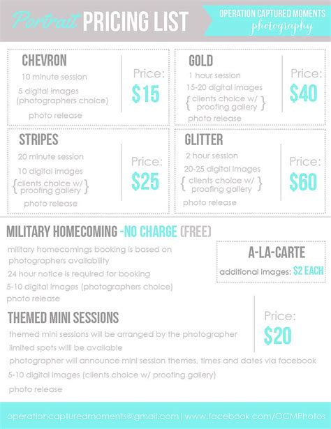 hair salon price list template by hollymolly graphicriver