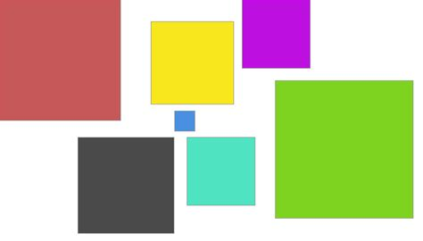 javascript random color html create random rectangles with random colors without