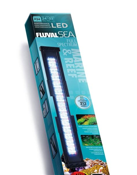 fluval sea 25000k marine and reef light hagen fluval sea led lighting review tropical fish site
