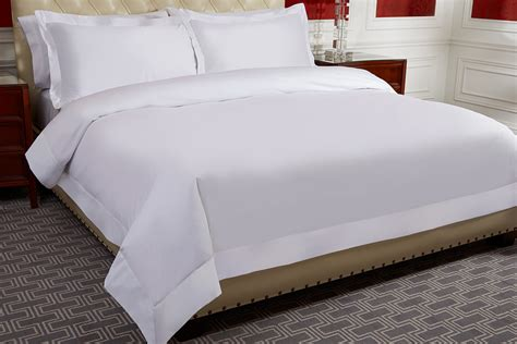 White Bed Set by The St Regis Bed Signature Collection Bedding Set St
