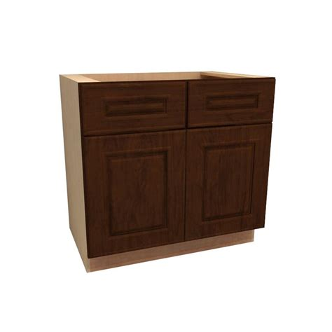 2 drawer base kitchen cabinet home decorators collection roxbury assembled 33x34 5x24 in