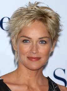 Short hairstyles for women over 50 with thick hair an older woman