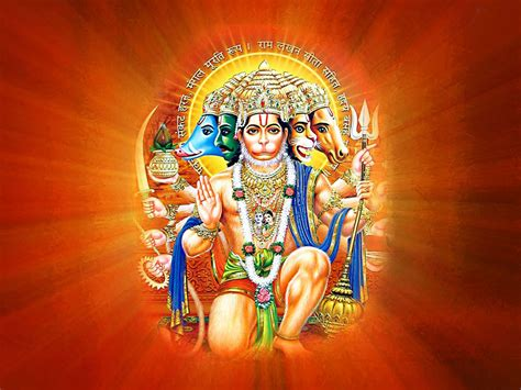 wallpaper for pc hd god panchmukhi hanuman hd wallpapers hindu god hd wallpapers
