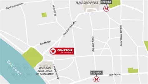Comptoir Des Voyages Lyon by Agence De Voyages 224 Toulouse Comptoir Des Voyages
