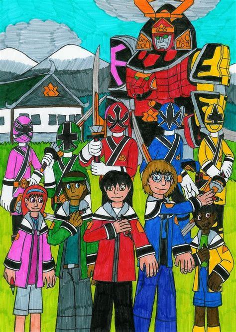 painting of power rangers samurai power rangers samurai master by mcsaurus on deviantart