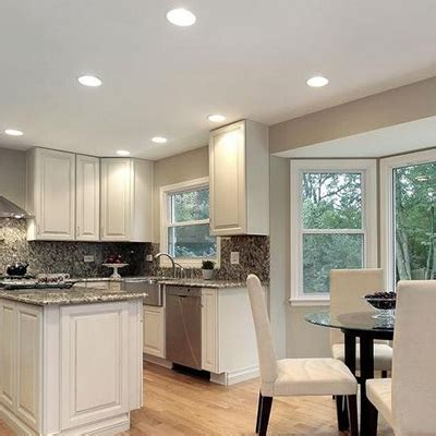 recessed led lights for kitchen kitchen lighting fixtures ideas at the home depot