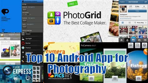 best photography apps android 10 best photography apps for android trickyphotoshop