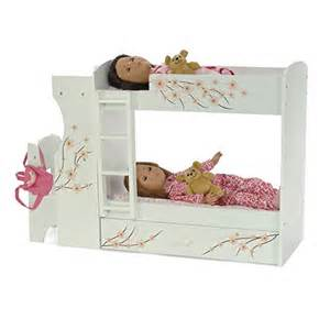 18 doll bunk bed fits american doll bunk bed desk combo 18 quot inch dolls