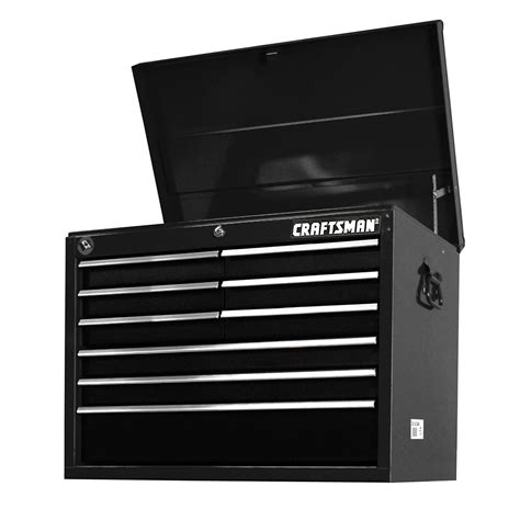 craftsman tool drawer stuck craftsman 27 quot 9 drawer top chest pro grade tool storage