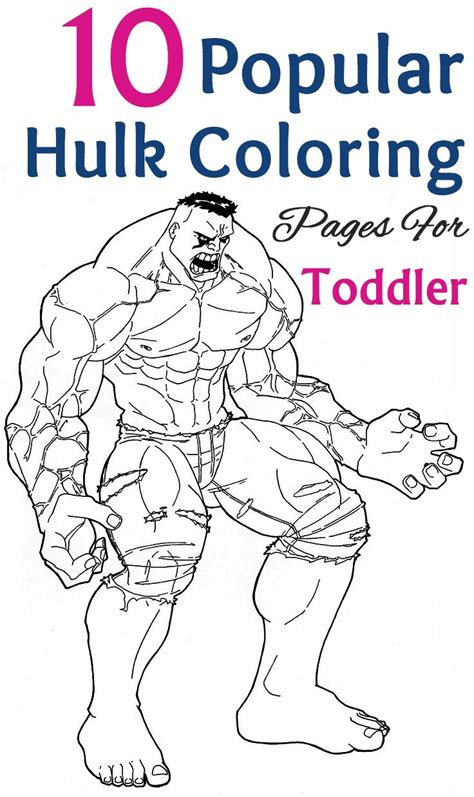 baby hulk coloring page 17 best images about summer 2016 on pinterest for kids