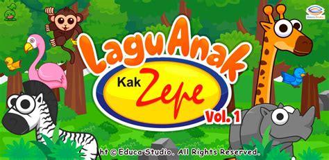 Vcd 12 Lagu Anak Indonesia Vol 01 lagu anak kak zepe 1 educa studio learning apps