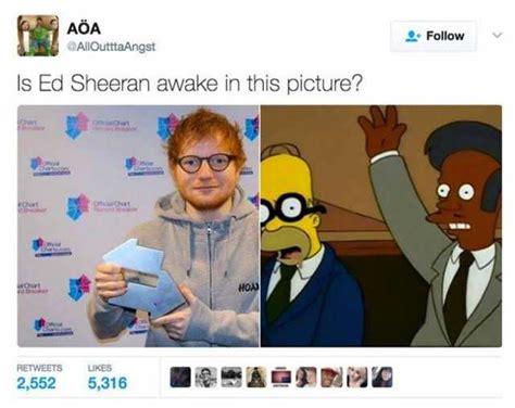 Ed Meme - dopl3r com memes is ed sheeran awake in this picture