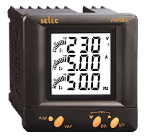 Selec Digital Ere Meter Ac Ma335 selec vaf36 electrical panel meters selec vaf36 panel meter manufacturers selec vaf36 digital