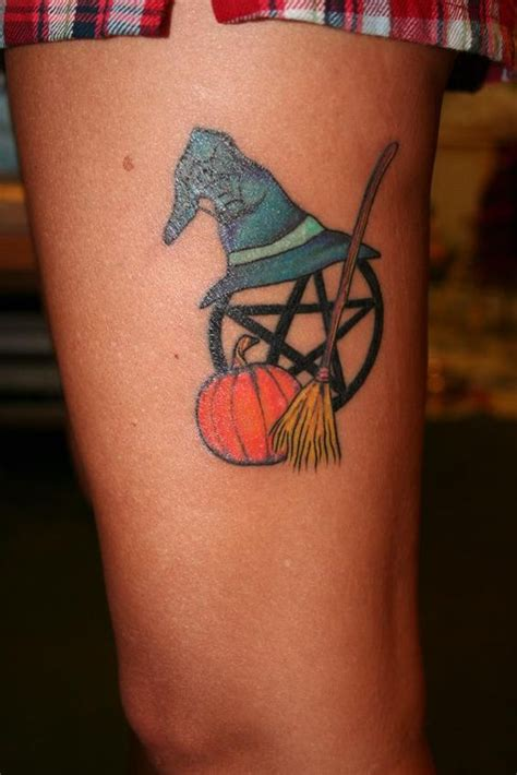 halloween inspired pagan wiccan tattoo tattoo s