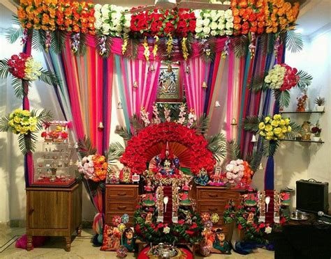 home decoration for janmashtami