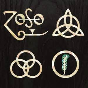 Chandelier Decal 4symbols The Four Symbols Led Zeppelin Iv Decals Sticker