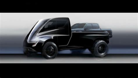 concept work truck this tesla truck concept looks
