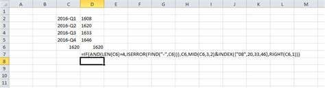 excel format year and quarter excel how to convert quarter years to other format