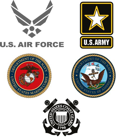 military branch logos armed forces symbols clip art united states armed forces