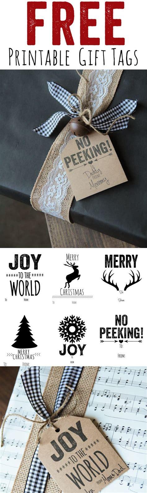 christmas gift tags printable decor the best free christmas printables gift tags holiday