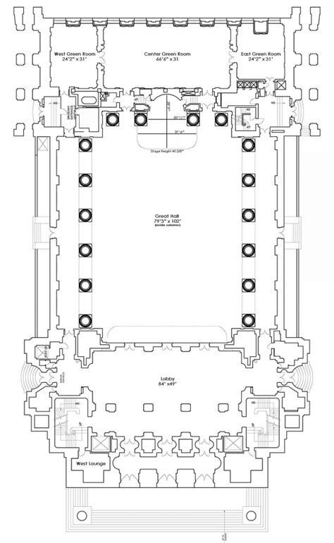 auditorium floor plan floor plans andrew w mellon auditorium
