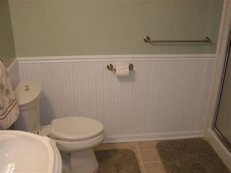 bathroom coating beadboard wainscotting small bathroom ideas pinterest