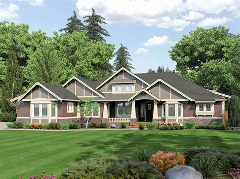 large ranch style homes plan 035h 0046 find unique house plans home plans and