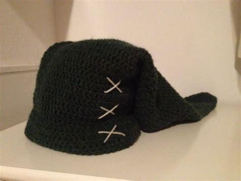 crochet pattern for zelda hat link hat pattern legend of zelda crochet knit pinterest