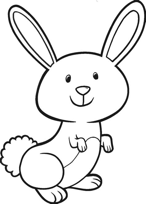 Printable Easter Bunny Coloring Pages Coloring Me Easter Bunny Color Page