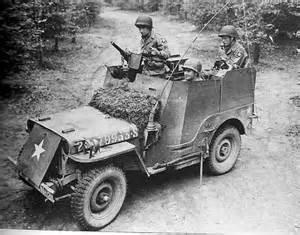 Armored Jeep 82nd Recon Armored Radio Jeep 4x4 With Machine Gun Ww2