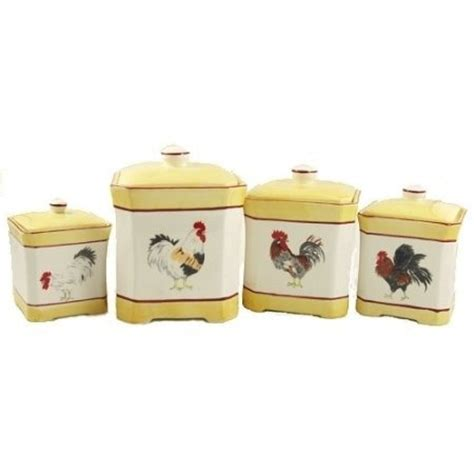 rooster kitchen canister sets 1000 images about primitive country dinnerware