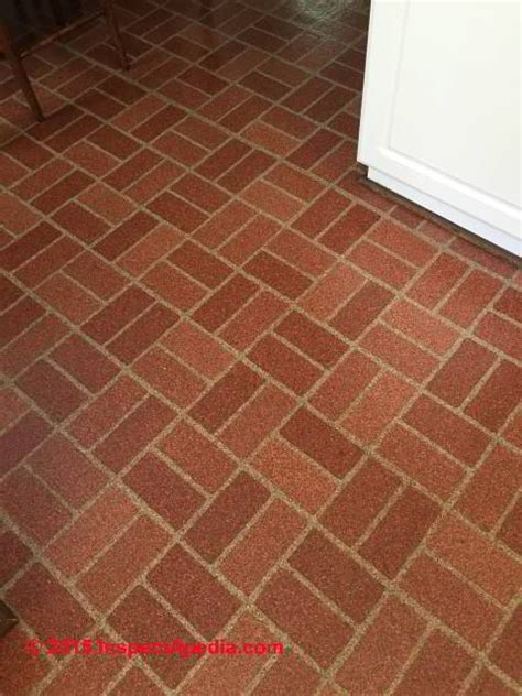 Brick Pattern Vinyl Flooring | asbestos content of brick pattern sheet flooring armstrong