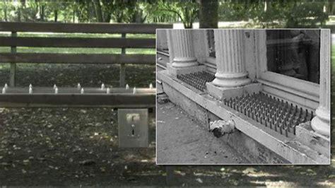 homeless bench news blogs defensive architecture aka anti homeless