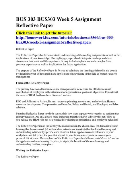 Mba Reflective Report Pdf by Work Reflective Essay Exles