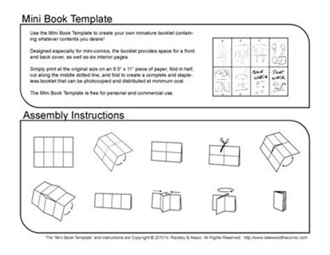 Mini Comic Book Template Pdf From Comic Dish Webcomics Hosting Paper Crafts Pinterest Mini Book Template Pdf