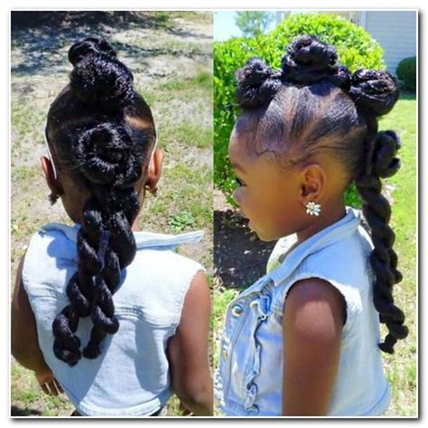 ponytail hairstyles for little black girls   new hairstyle