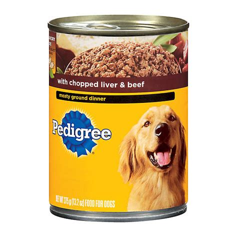 petsmart puppy food pedigree 174 meaty ground dinner food canned food petsmart