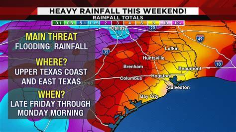 rain through weekend