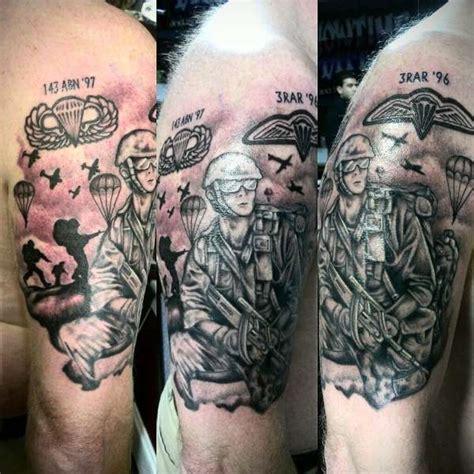 paratrooper tattoo paratrooper sleeve www pixshark images