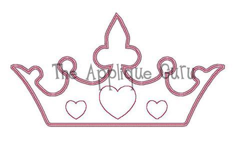 princess tiara template cake ideas and designs